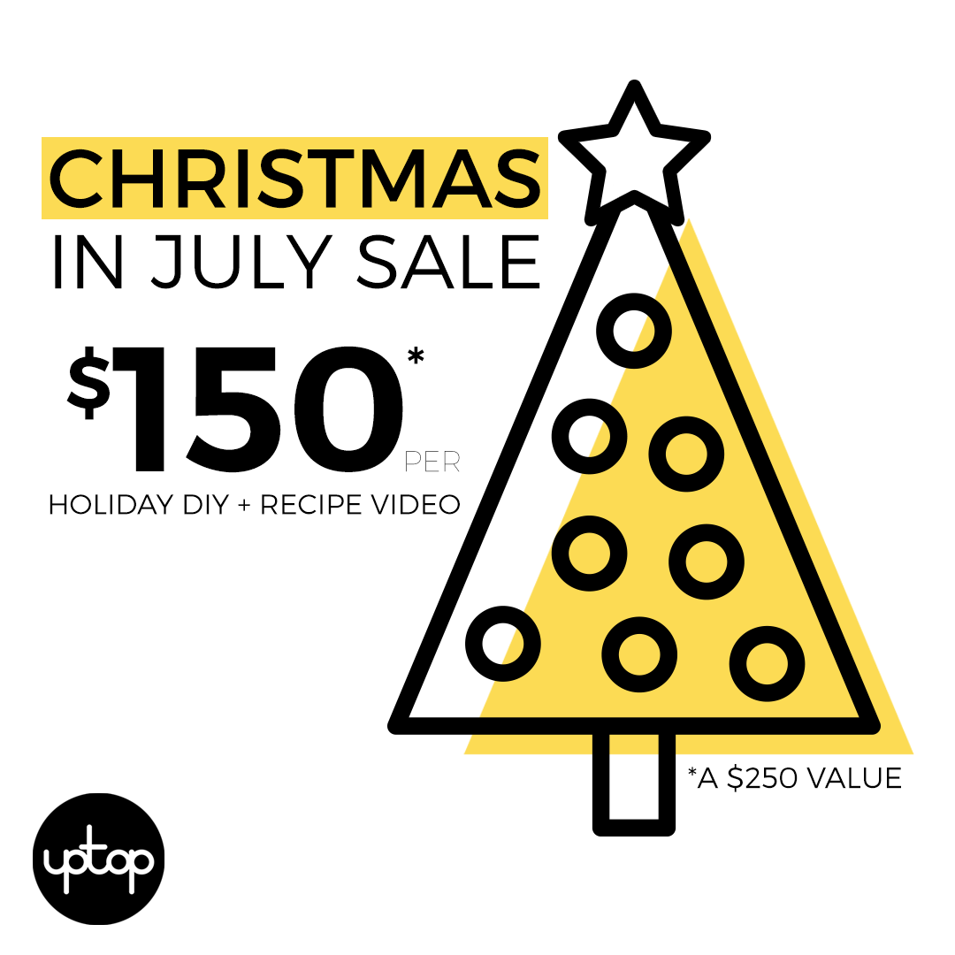 Christmas and Winter Holiday Video Content SALE – $150